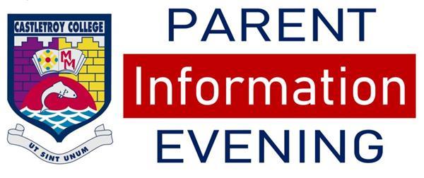 Castletroy College Parent Information Evening