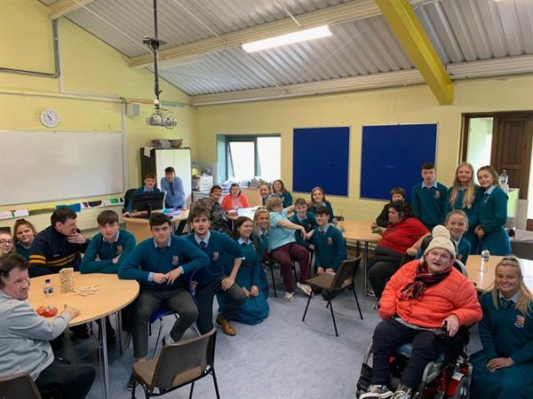 Castletroy College welcomes our friends from St. Vincents, Lisnagry