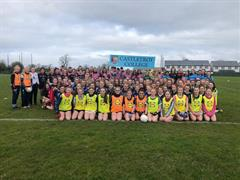 Castletroy College Ladies Football Blitz