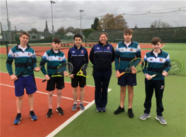 Senior Tennis Team win Munster U19 Shield Final