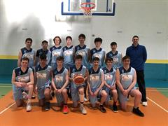 Quarter Finals in Tallaght for our U19 Basketball Team.