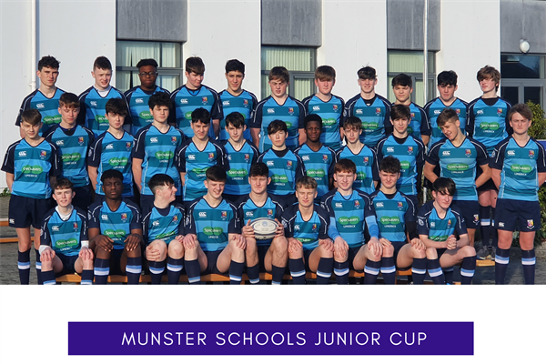 Castletroy College record win in first round of the Munster Schools Junior Cup