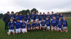 Sporting success continues with First Year Footballers crowned County Champions!