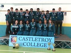Boys All-Ireland Basketball Win