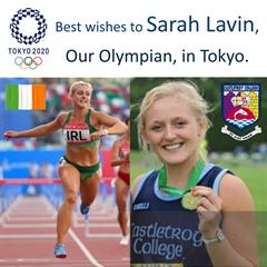 Best wishes Sarah from all your friends in Castletroy College