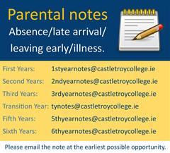 Parental Notes